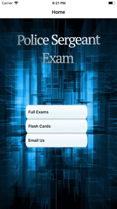 Police Sergeant Exam Prep screenshot 1