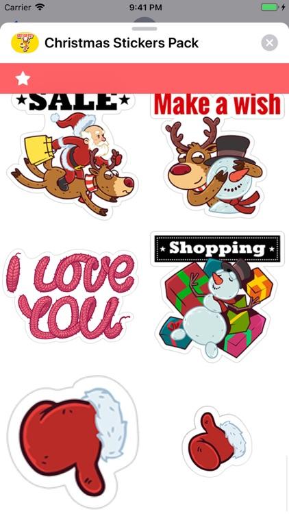 Christmas Stickers Pack ! screenshot-7