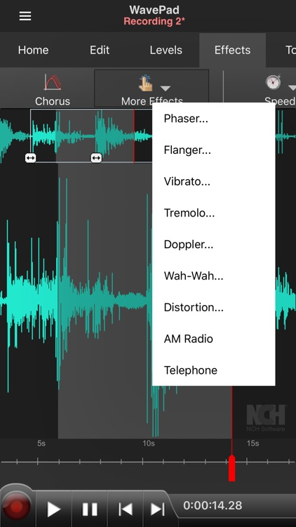 WavePad Music and Audio Editor screenshot-5