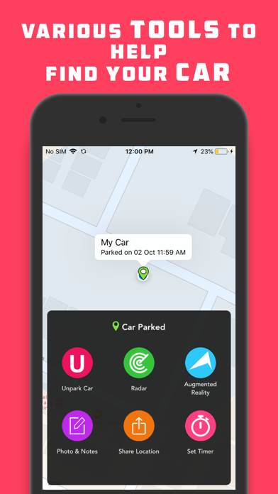 Find My Car - Car Locator Pro Screenshots