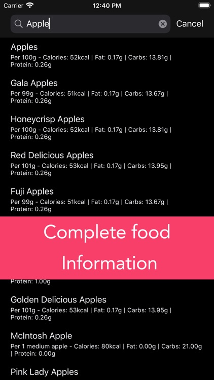 Calorie Counter screenshot-2