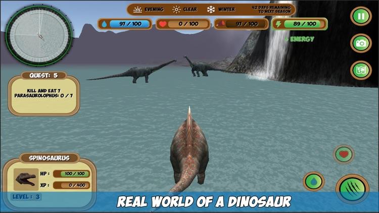 My Spinosaurus Simulator