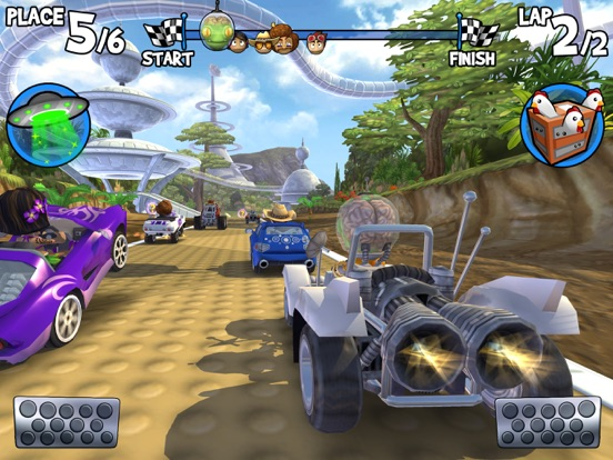 Beach Buggy Racing для iPad