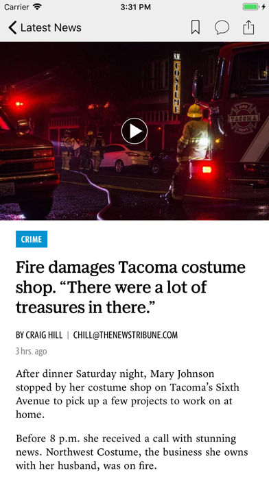 The News Tribune News Screenshot