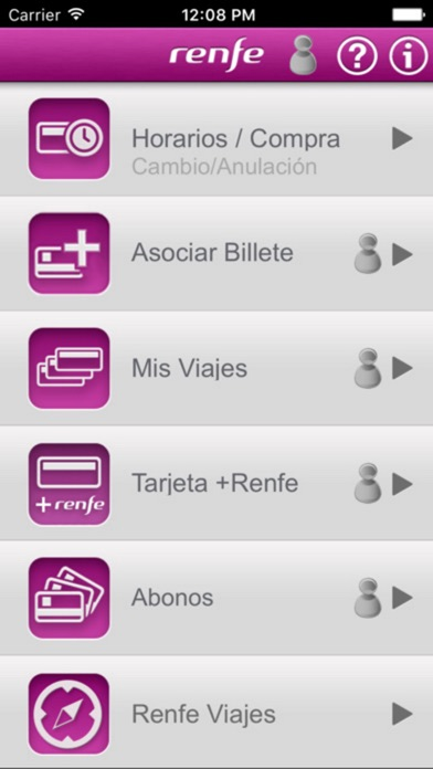 Descargar Renfe Ticket para Android