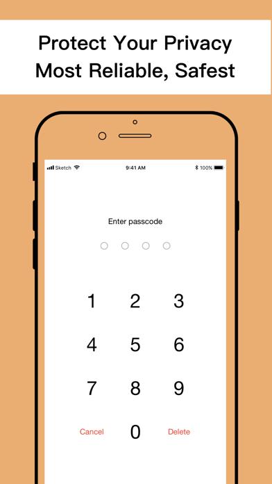 Second Phone Number+ Screenshot