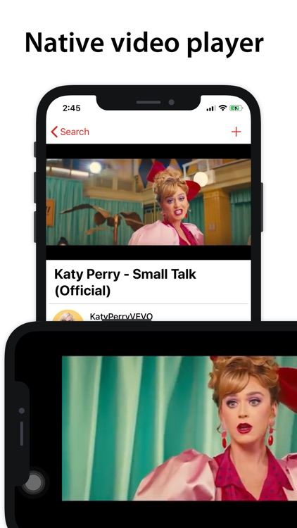Tuber: Watch videos natively