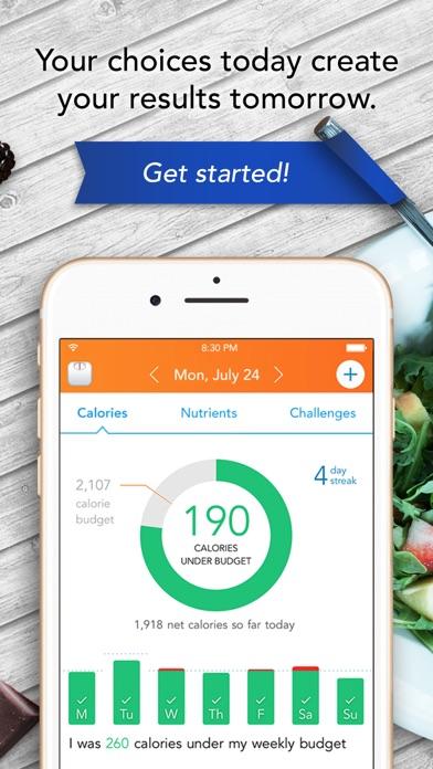 Lose It Calorie Counter review screenshots