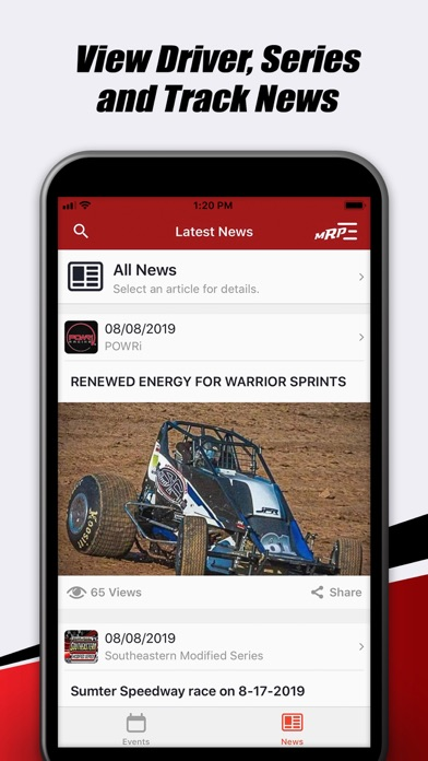 MyRacePass Screenshot