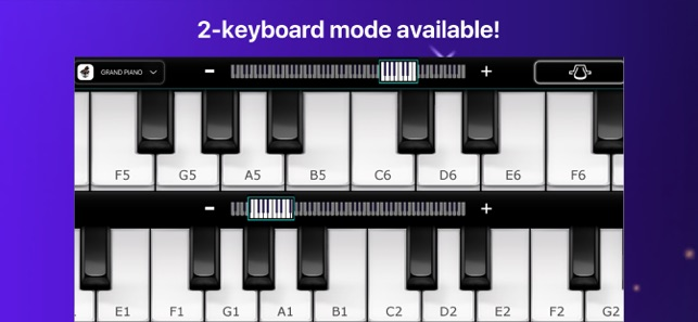 Piano - simply game keyboard on the App Store