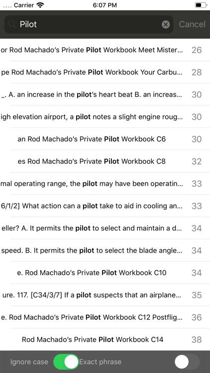 Rod's Private Pilot Workbook screenshot-3