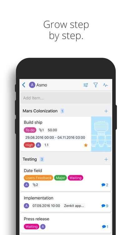 Zenkit screenshot-4