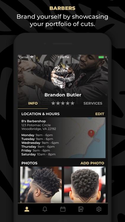 theCut: #1 Barber Booking App screenshot-3