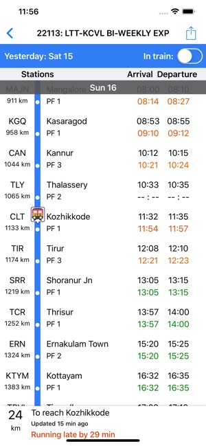 Train Status on the App Store