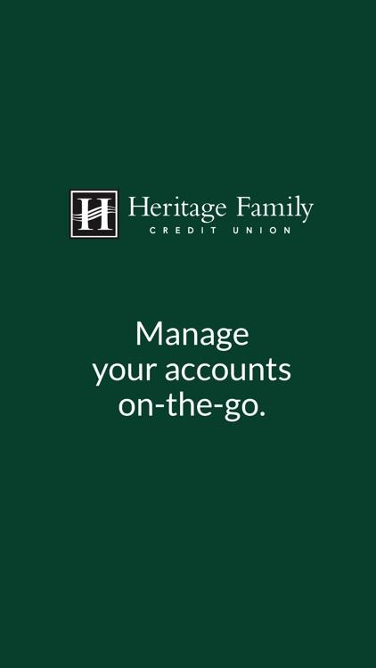 Heritage Family CU eBranch
