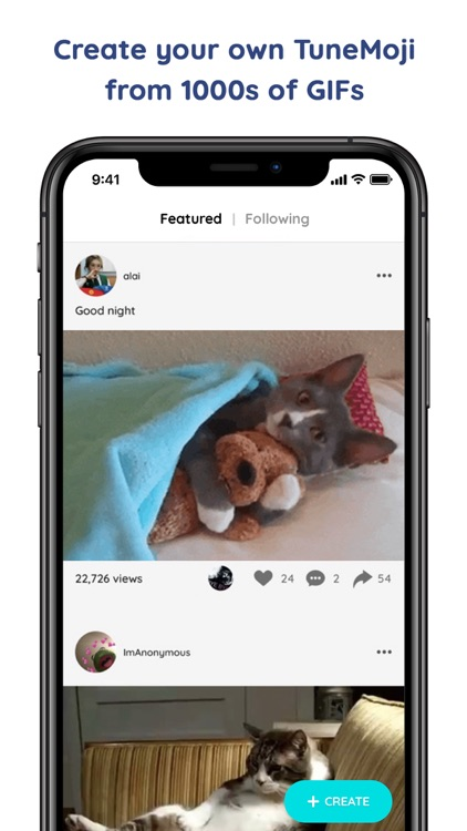 TuneMoji: Build GIFs or Memes screenshot-0
