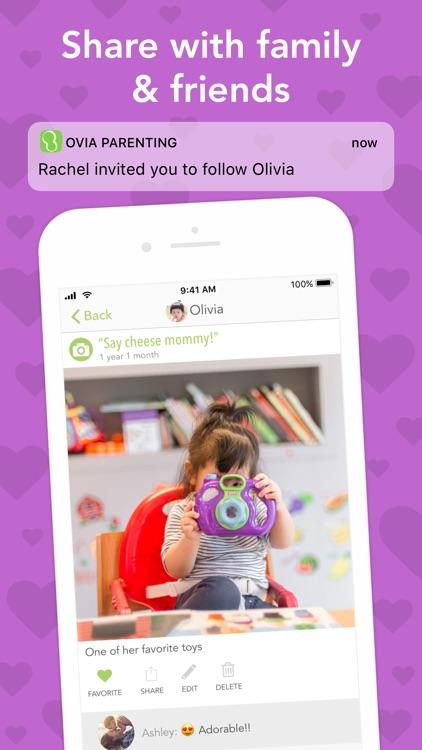Ovia Parenting & Baby Tracker screenshot-4