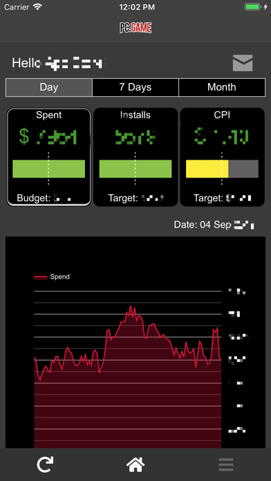 Screenshot of PC.GAME App