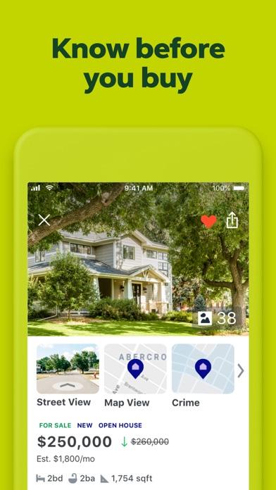 Trulia Real Estate review screenshots