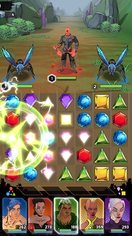 Puzzle Force: Match 3 RPG screenshot-5