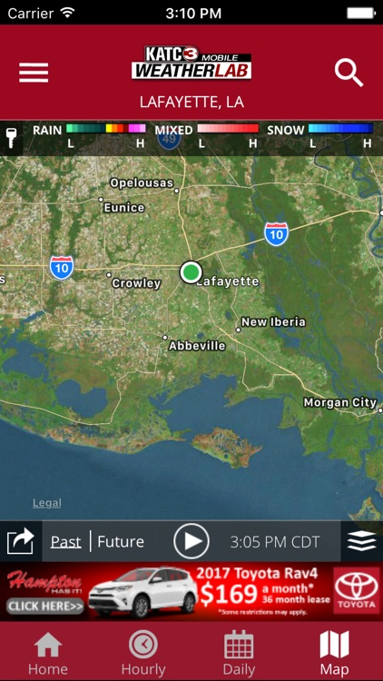 KATC WX screenshot-2