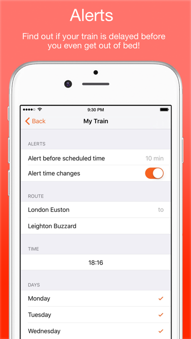 UK Live Trains screenshot four