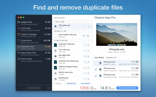 ‎Cleaner-App Screenshot