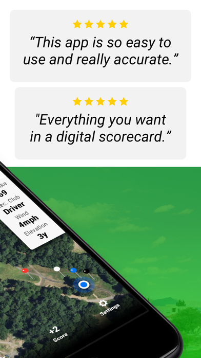 Golf Gps Swingu review screenshots