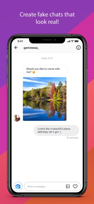 Fake Chat (Direct Message) on the App Store
