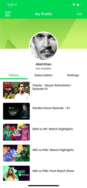 Bioscope Live on the App Store