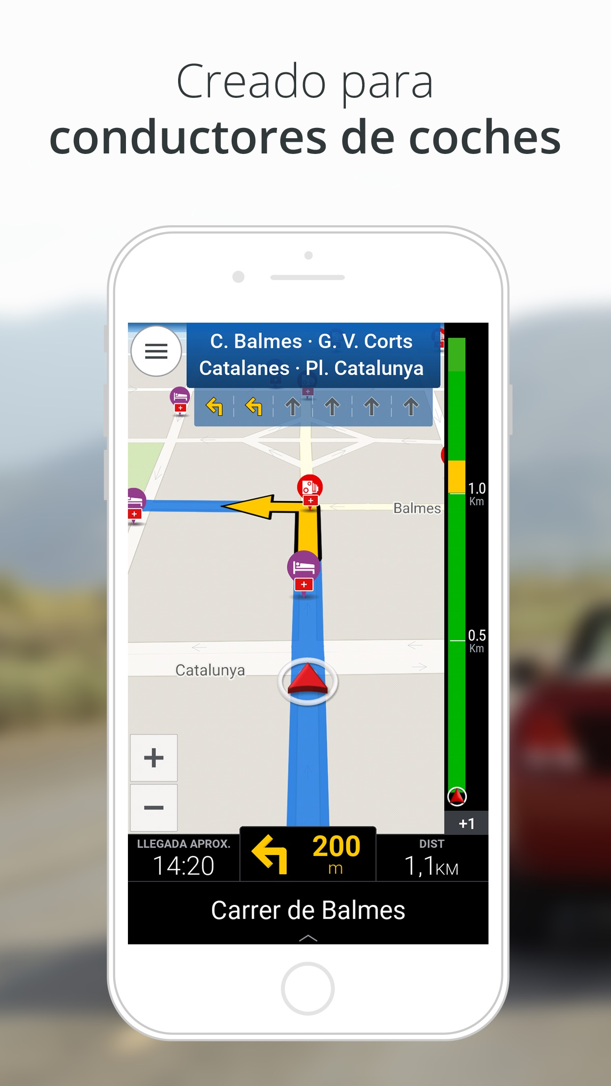 CoPilot GPS Navegación Screenshot