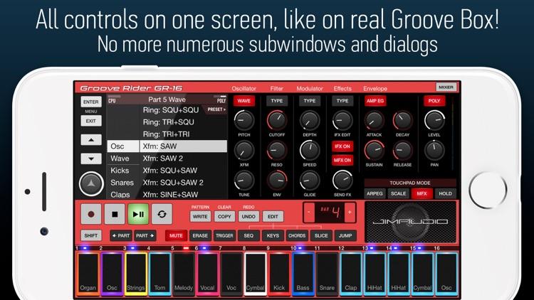 Groove Rider GR-16 screenshot-3