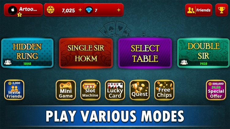 Court Piece - My Rung & HOKM! screenshot-3