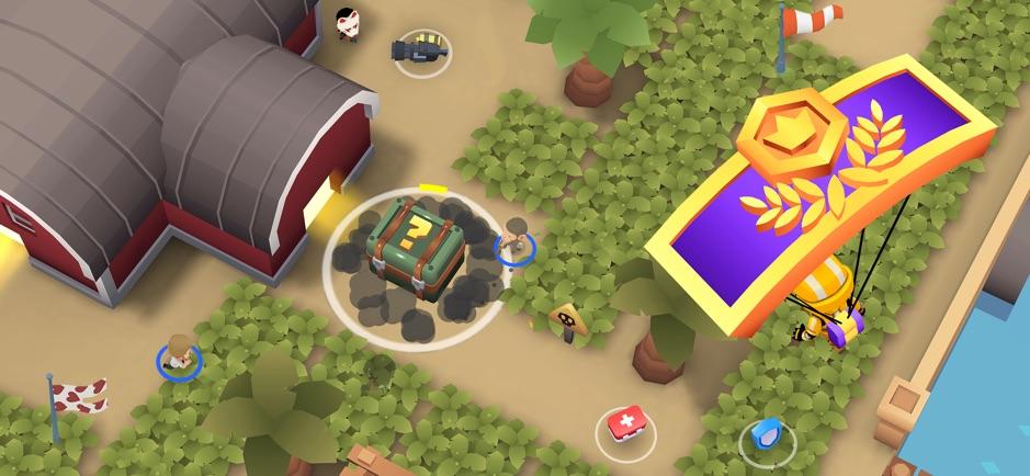 Battlelands Royale - лучшая королевская битва на iPhone