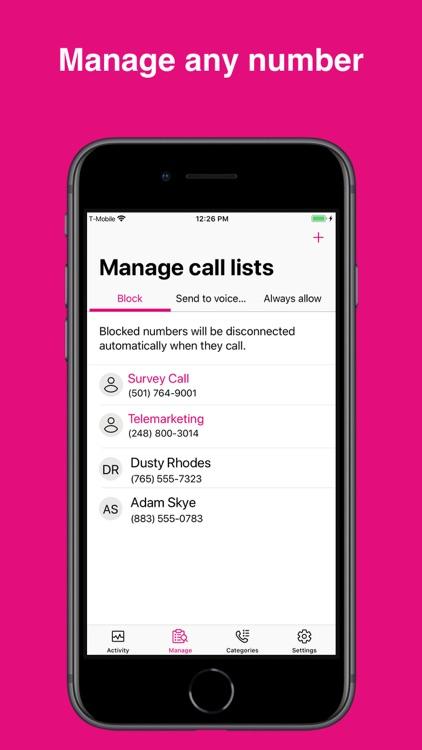 T-Mobile Name ID screenshot-3