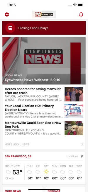 EYEWITNESS NEWS WBRE, WYOU on the App Store