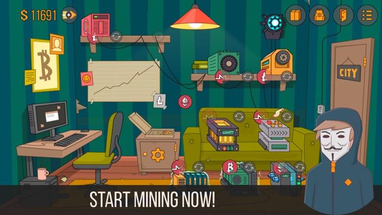 Miner Tycoon Bitcoin Simulator screenshot-0