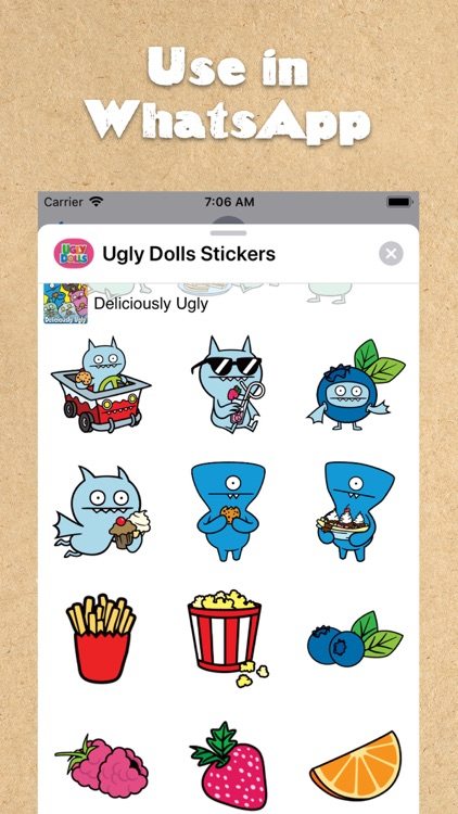 UglyDolls Stickers screenshot-3