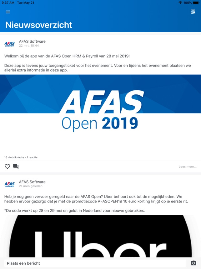AFAS Events on the App Store