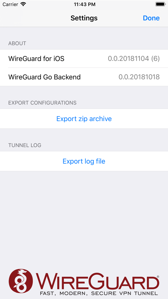 WireGuard App for iPhone - Free Download WireGuard for iPad