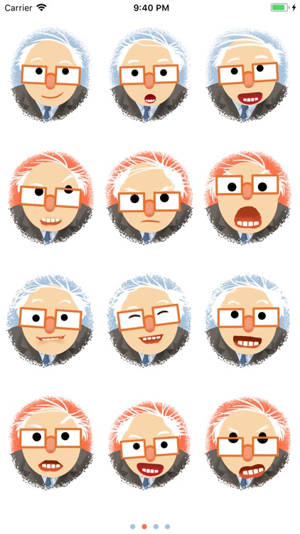 Berniemoji screenshot-2