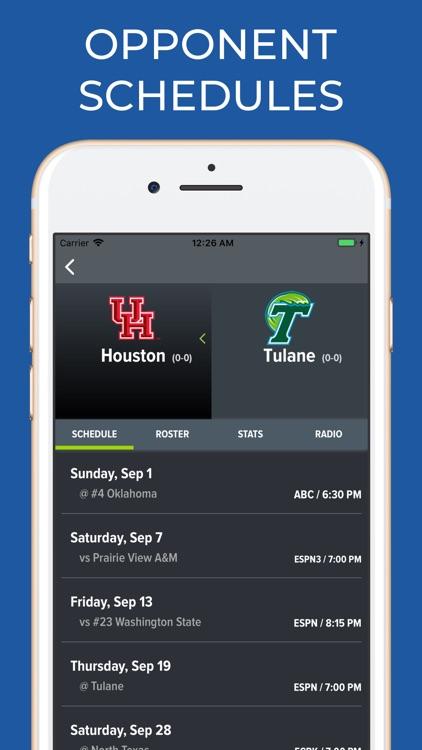 Tulane Football Schedules screenshot-5