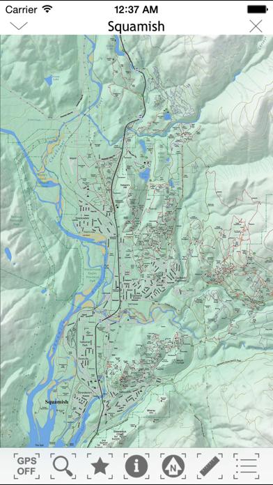 TrailMapps: Squamishのおすすめ画像2