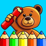 儿童彩色绘图的游戏