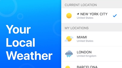 Screenshot for Weather' in United States App Store