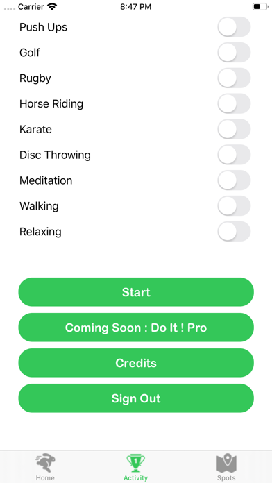 Do It Trainer screenshot 3