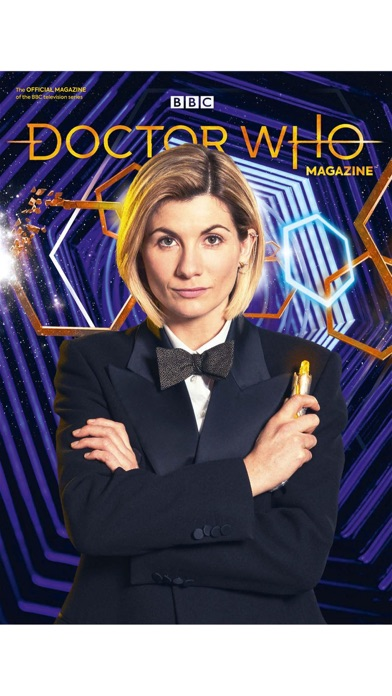 Doctor Who Magazine review screenshots