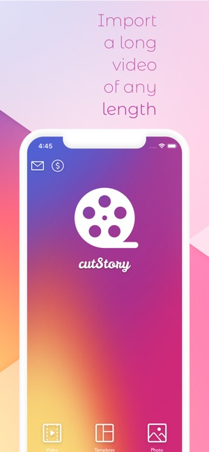 CutStory for Instagram Stories Screenshot