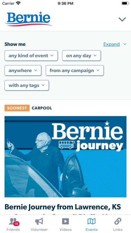BERN: Official Bernie 2020 App screenshot-3