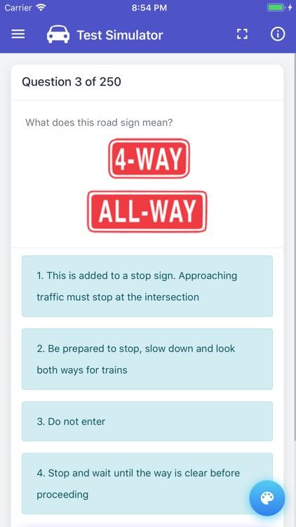 Nebraska DMV Permit Test by Anjian Yu